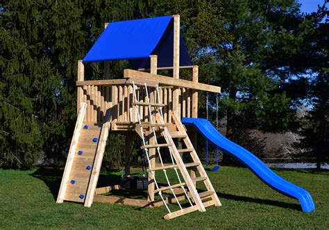tire swing set triumph play system s bailey wooden swing set with tire