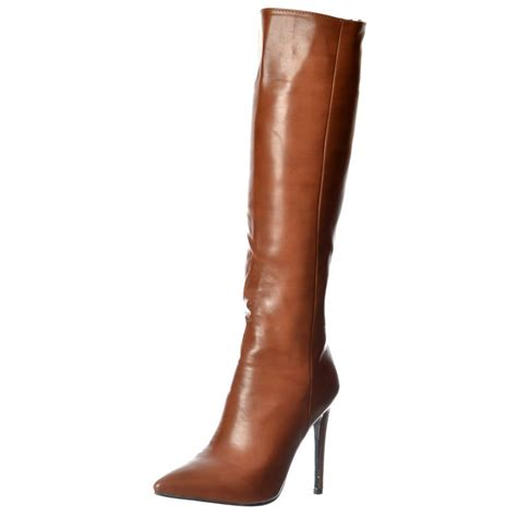 womens high heeled boots womens stiletto mid heel pointed toe knee high boots