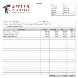construction quote template information sheet template