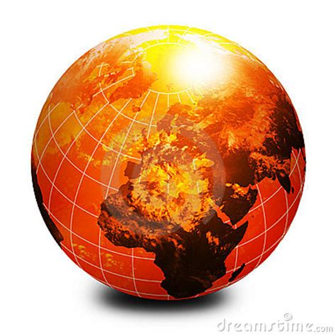 orange world globe royalty  stock image image