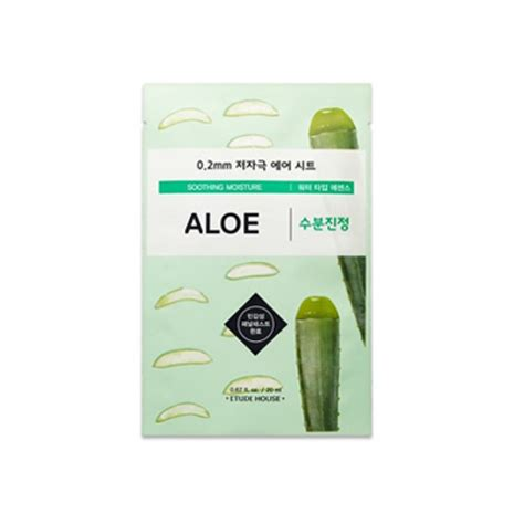 Etude House Therapy Air Mask 0 2mm etude house 0 2mm therapy air mask aloe firstskin
