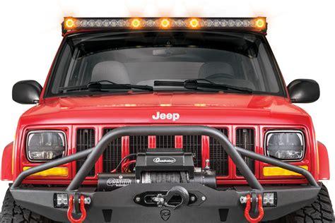 led light bar jeep quadratec 174 j5 led light bar with clearance cab