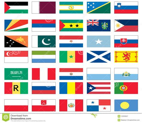 flags of the world gallery flags of the world 6 of 8 royalty free stock photography