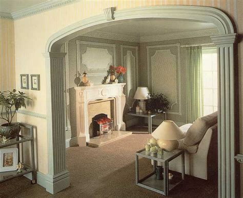 interior home columns indoor columns for homes interiors columns and arches