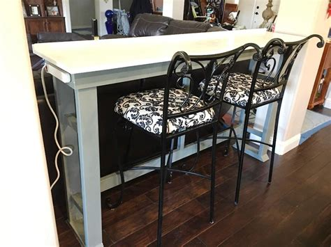 sofa table with outlet the table with outlet home design finding