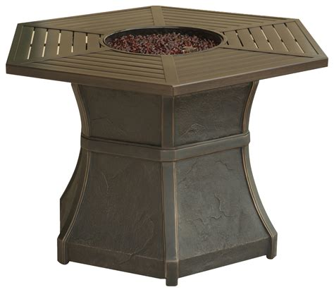 high top pit table cambridge high top gas pit table brown hex1pcfp