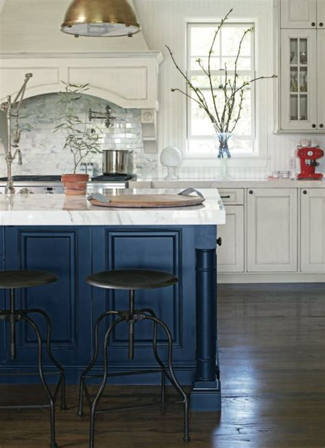 Blue Kitchen Island Navy Blue Kitchen Islands Classic Or Trendy