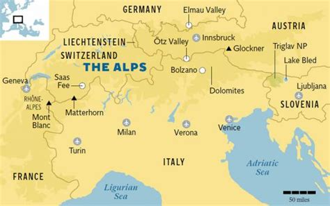 alps map summer in the alps lower prices great walking and