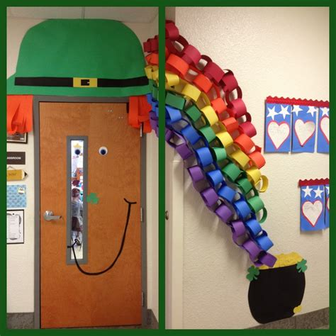 St Day Door Decorations by Our Classroom Door For St S Day Bulletin Board