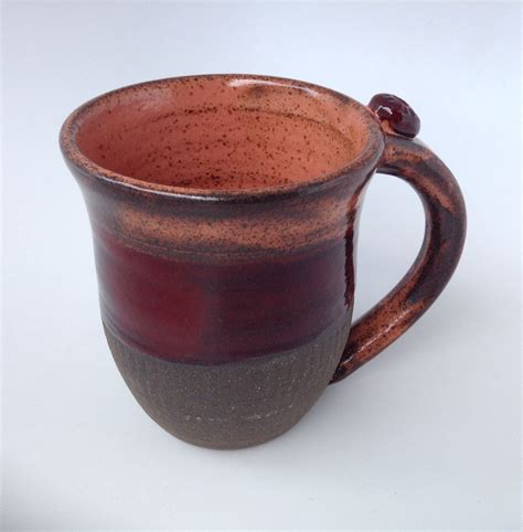 Handmade Mug - handmade ceramic mug pottery coffee mug stoneware tea cup