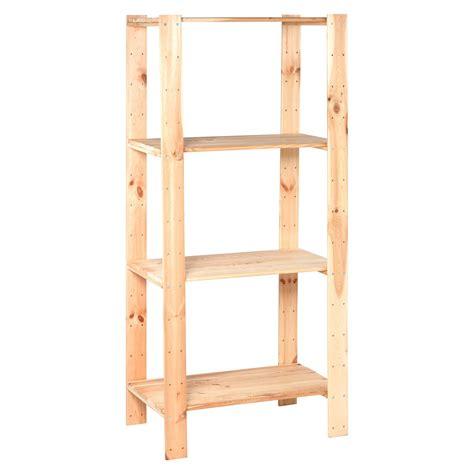 scaffale di legno obi scaffale in legno per carico pesante 174 cm x 80 cm x