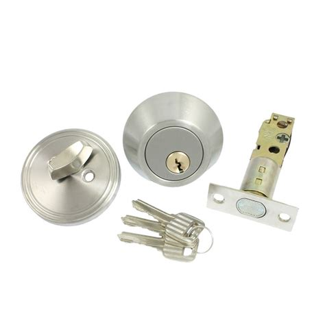 home door locking security single cylinder deadbolt lock