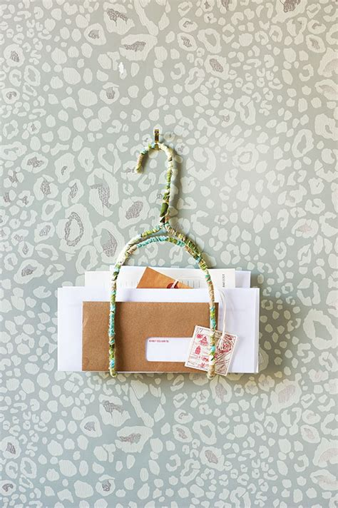 How To Make A Hanger Holder - how to make a pretty diy letter holder chatelaine