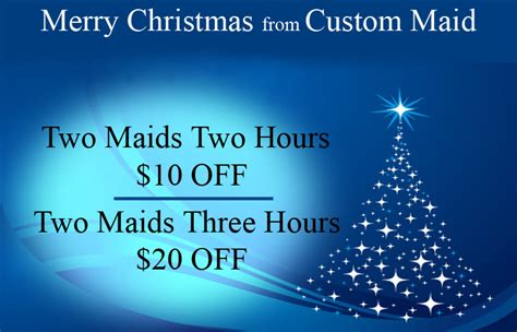 merry xmas custom maid house cleaning  arizona