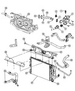 Jeep Compass Parts 2007 Jeep Compass Radiator And Related Parts