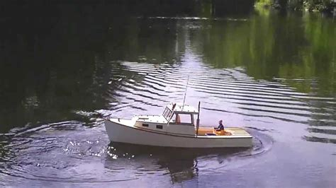 lobster boat videos rc boothbay lobster boat whim with crew youtube