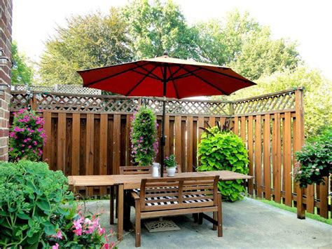 Patio Table Parasol Patio Table Umbrella Bushing The Patio Table Umbrella For Comfort Gathering Cement Patio