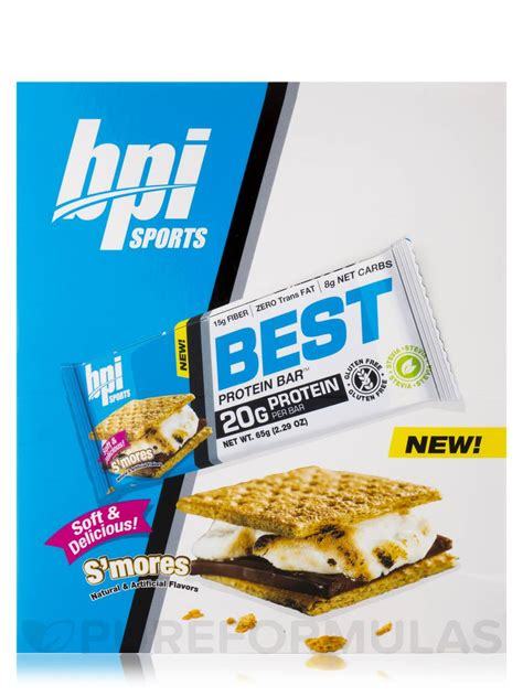 top rated protein bars best protein bar s mores box of 12 bars