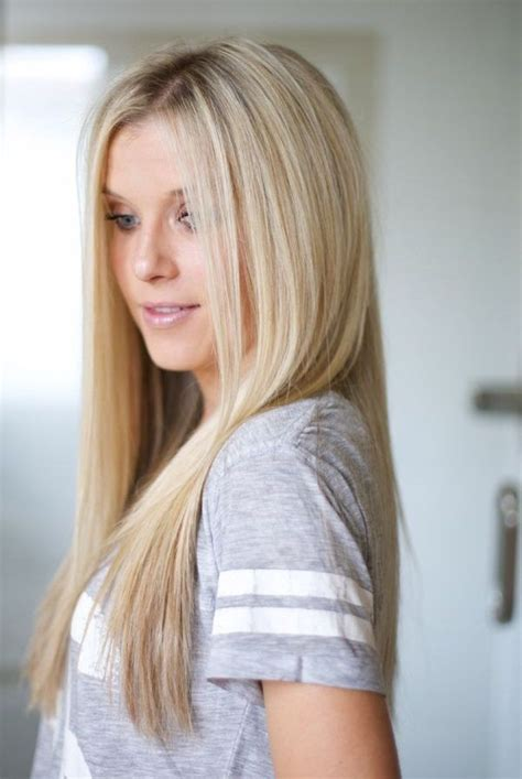girl hairstyles blonde 17 best images about straight hair on pinterest hair