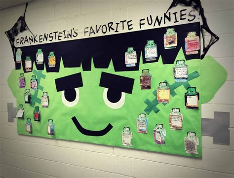 ideas frankenstein 17 best images about bulletin boards and school projects