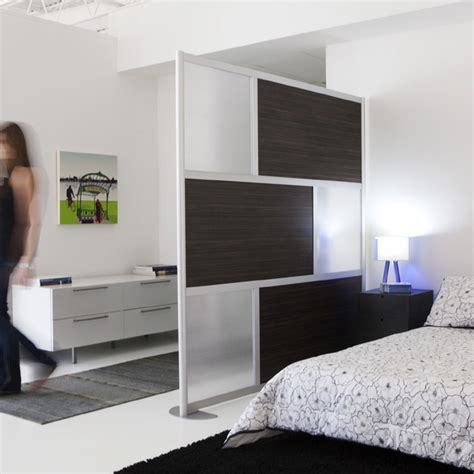 bedroom privacy screen 6 modern privacy screen ebony wood modern bedroom