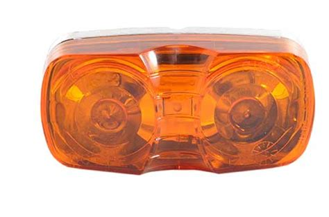 46783 two bulb square corner clearance marker light die