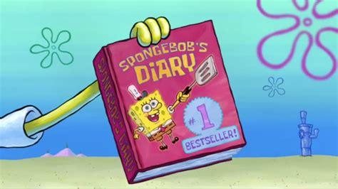 spongebob s secret read yellow book encyclopedia spongebobia the
