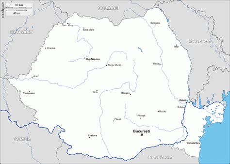 romania map with cities romania map cities travelsfinders