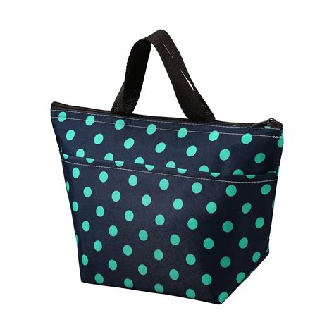 Lunch Bag Lapis Almunium printing lunch bags arricastle oxford cloth aluminum foil insulated zip ebay