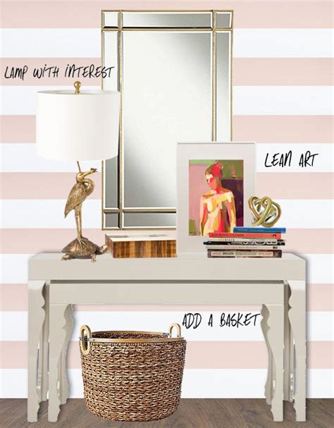 how to style a console table 39 best images about coffee table decorating ideas on