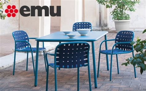 Emu Outdoor Furniture From Italy Made In Design Uk Emu Italian Outdoor Furniture