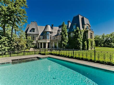 celine dion private island celine dion s quebec ch 226 teau sells pricey pads