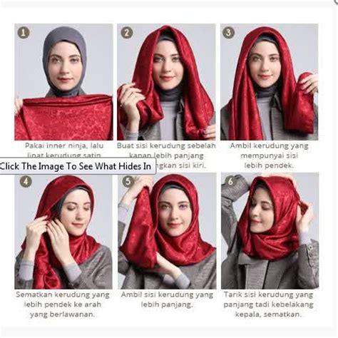 tutorial hijab pasmina lebaran 2015 foto tutorial hijab modern sederhana terbaru 2016