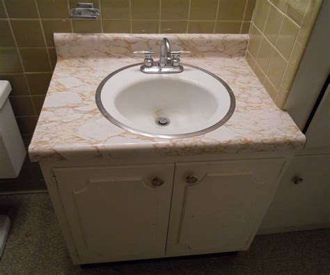 remove bathroom sink removing a sink and vanity home improvement all