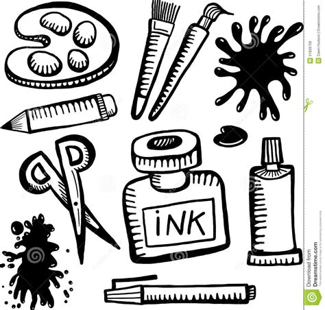 white crafts and craft clipart black and white clipartsgram