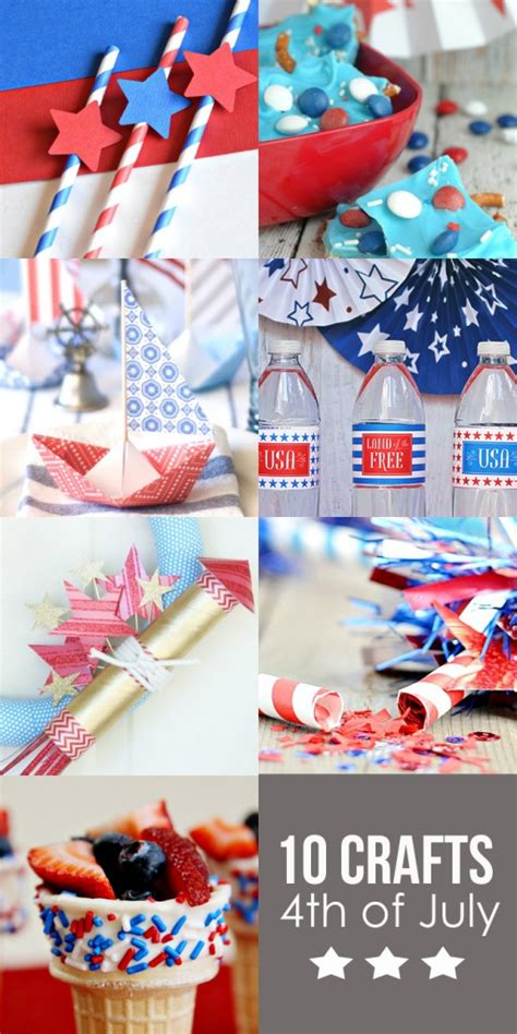 craft roundup 10 4th of july crafts see vanessa craft