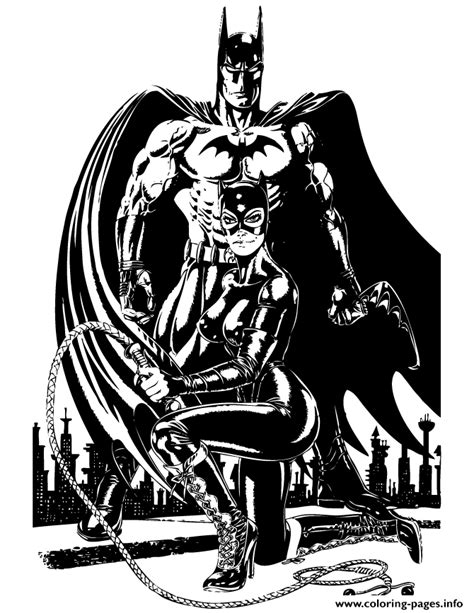 batman catwoman coloring pages batman and catwoman for teenagers coloring pages printable