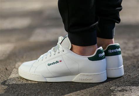 lowtop trainers c 2 97 104 reebok npc vintage white green sneakernews