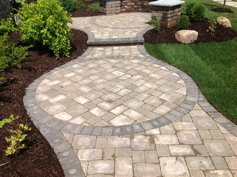 curved pavers home depot for garden decor