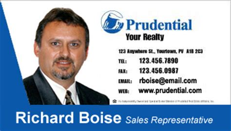Credit Card Form Prudential Business Card Style Prudential Template 1007