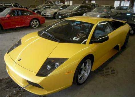 Water Damaged Lamborghini For Sale Grand Prix And Lamborghini Cars For Sale