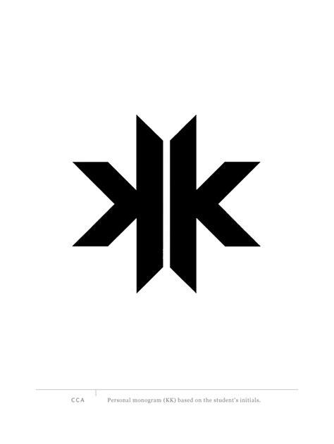 graphis logo design 8 kk monogram graphis