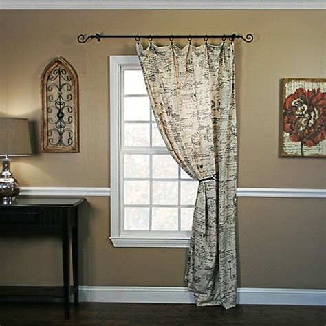 63 inch window curtains buy script 63 inch window curtain panel from bed bath beyond