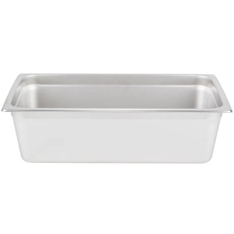 full size steam table pan choice full size standard weight anti jam stainless steel