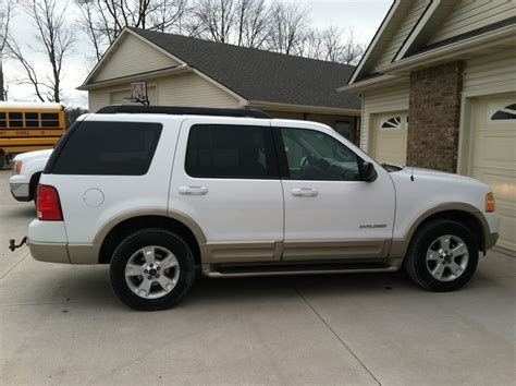 2003 ford explorer eddie bauer 2003 ford explorer eddie bauer edition white cars i