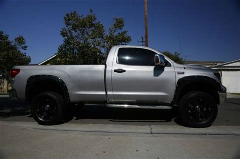 tundra long bed sell used 2007 toyota tundra long bed reg cab lifted xd