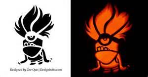 Pumpkin Carving Templates Minion by 10 Best Free Minion Pumpkin Carving Stencils Patterns