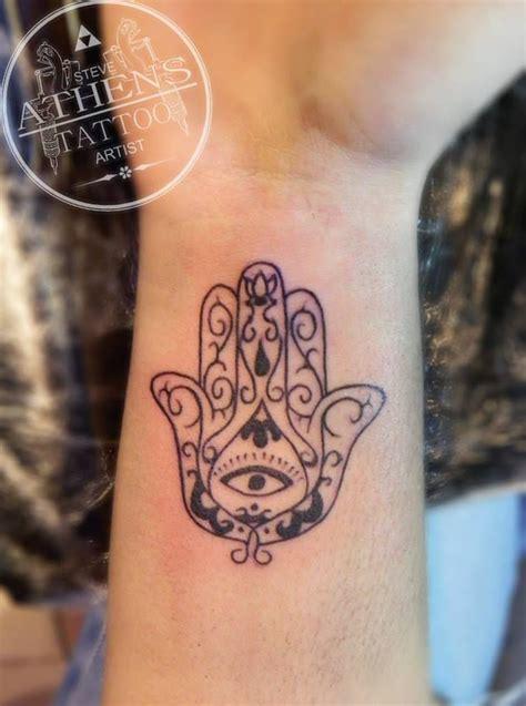 small hamsa hand tattoo small hamsa by artist steve