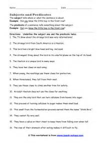 compound subject and predicate worksheets auto design tech