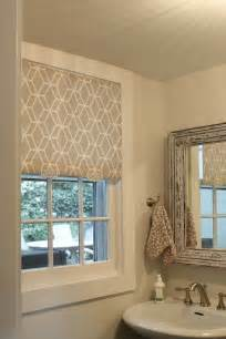 Fabric Window Shades Diy Fabric Pull Shade Decorating Ideas